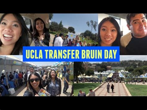 Ucla Computer Science Mba by Road Trip With Friends To Ucla For Transfer Bruin Day