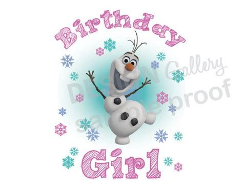 printable birthday invitations olaf disney s frozen olaf birthday girl image diy printable