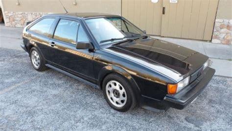 sell used 1988 volkswagen scirocco 16 valve coupe 2 door 1