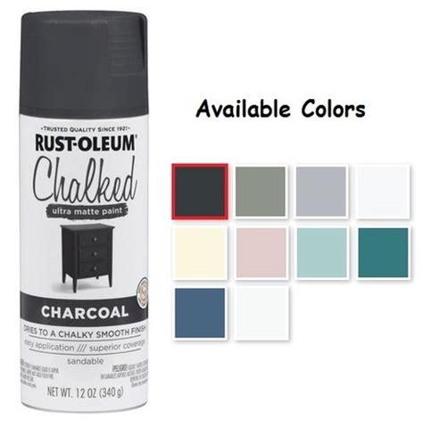 rustoleum spray paint colors rust oleum chalked spray paint decorative paints and