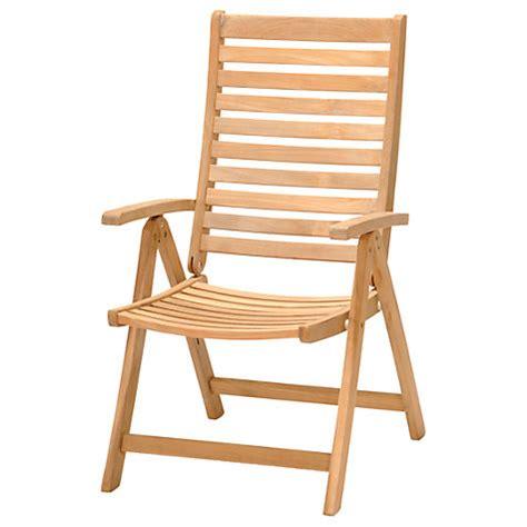 john lewis recliner buy john lewis longstock reclining teak outdoor armchair