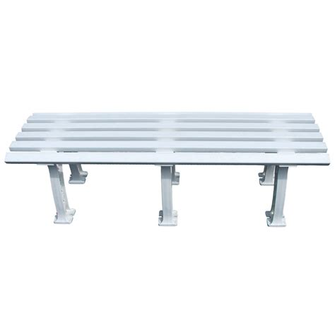 tennis bench tennis express tourna tennis mid court bench 5 feet white