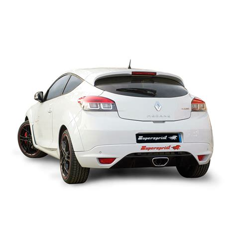 renault megane sport coupe performance sport exhaust for renaultsport megane 265