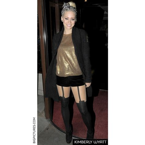 what hair products does kimberly wyatt use kimberly wyatt house of holland super suspender tights