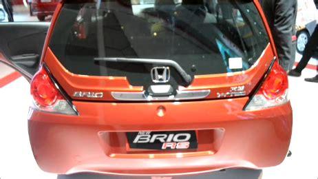 Model Baru Wiper Bosch Advantage Honda Brio 1 Set 22 14 Sparepart Mob facelift honda brio mengikuti tren modikasi berita otomotif review keunggulan kelemahan dan
