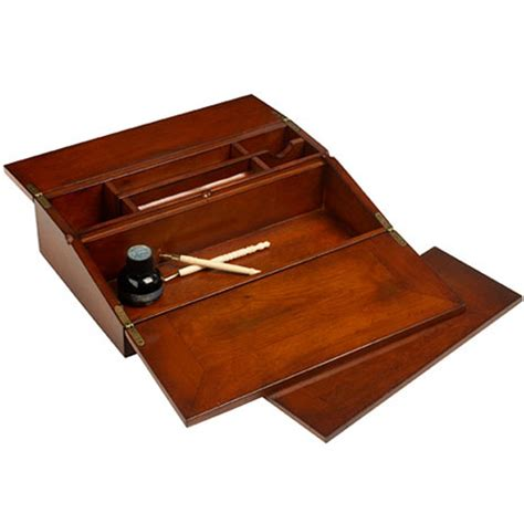 g614 biedermeier travel fold writing desk