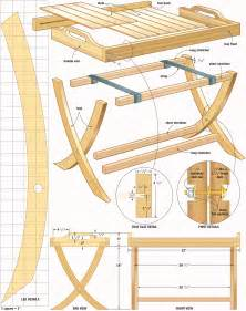 woodworking design portable table tray woodworking plans woodshop plans