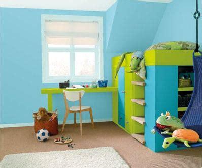 chambre enfant bleu et vert les gammes couleurs du monde 224 d 233 couvrir chez dulux