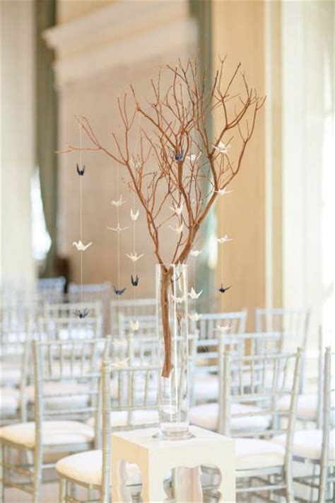 origami crane wedding decoration paper cranes wedding decor ideas