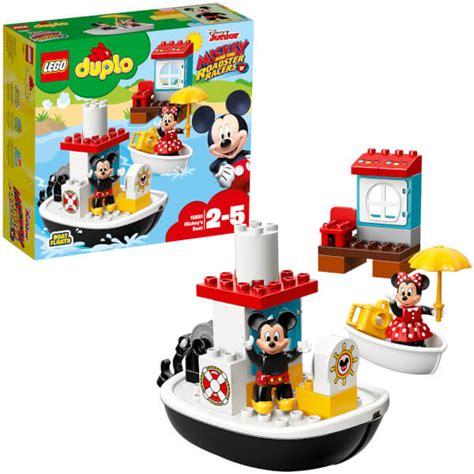 lego boat duplo lego duplo disney mickey s boat 10881 toys zavvi