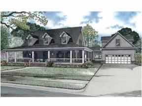 Dutch House Plans Honeysuckle Lane Hwbdo62941 Dutch Colonial From