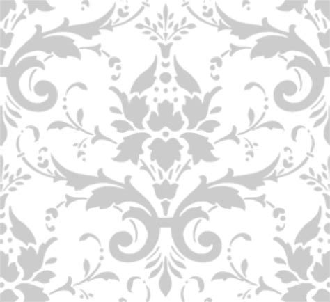 silver pattern png gray damask clip art at clker com vector clip art online