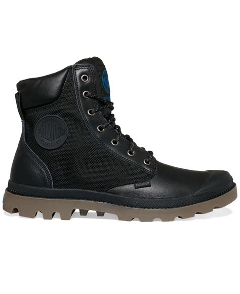 palladium pa sport cuff wp2 boots in black for lyst
