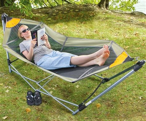 Tow Bar Hammock by Rv Portable Folding Hammock
