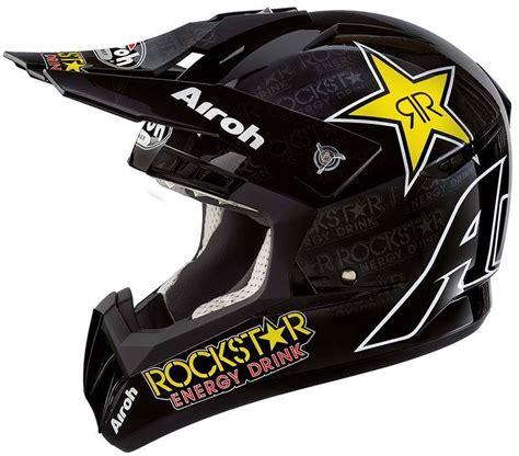 motocross helmet rockstar casque helmet airoh airoh cr901 rockstar motorcross helm