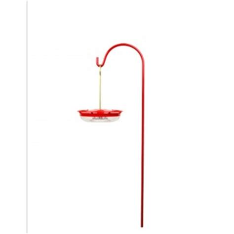 red hummingbird feeder pole shop by series