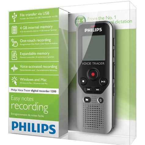 Audio Rekaman Philips Dvt 1150 4gb Free Microsd 16 Gb philips dvt1200 philips dvt1200 expandable 4gb voice tracer digital recorder with superior