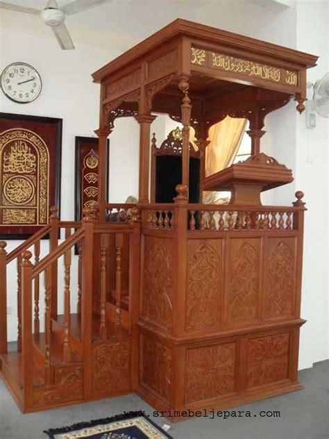 Mimbar Masjid Jati Jepara Mimbar Jati Mebel Jepara mimbar masjid ukiran jati jepara yang antik srimim 008 mebel jati furniture jepara furniture