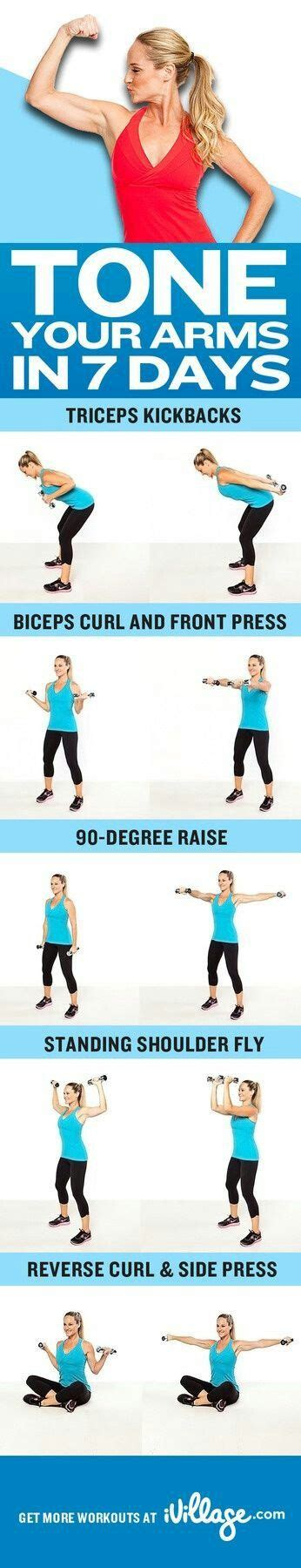 how to get toned arms arm toning team fit pinterest