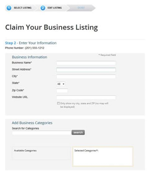 Superpages Lookup Business How To Add A Business Listing To Superpages Local Seo Guide