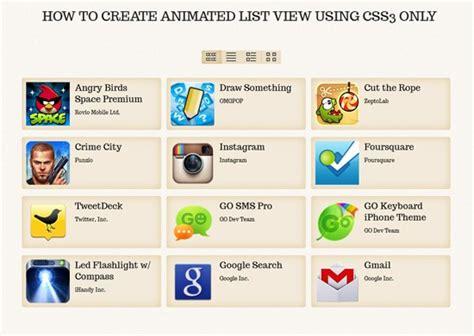 css tutorial list css tutorials web design and development techniques