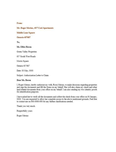 No Authorization Appeal Letter Template Loan Closure Letter Format Docoments Ojazlink