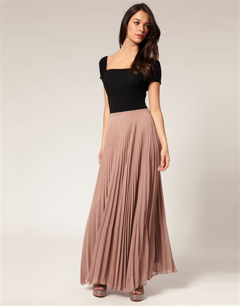 in a pleated style 7 sophisticated ways to wear maxi