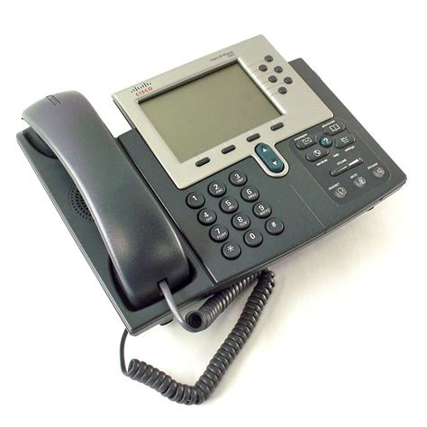cisco ip phone refurbished 6 line office telephone cp 7960g