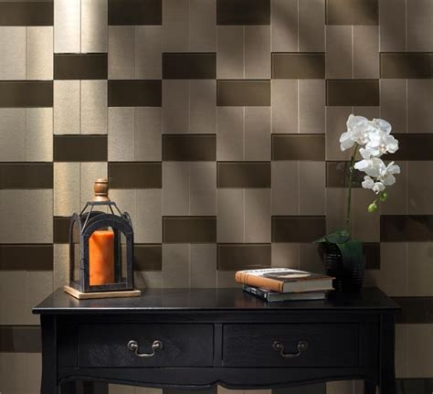 aspect metal backsplash tiles for backsplash kitchen studio design gallery