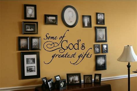Wall Sticker Phrases god s greatest gifts wall lettering decal decor words ebay
