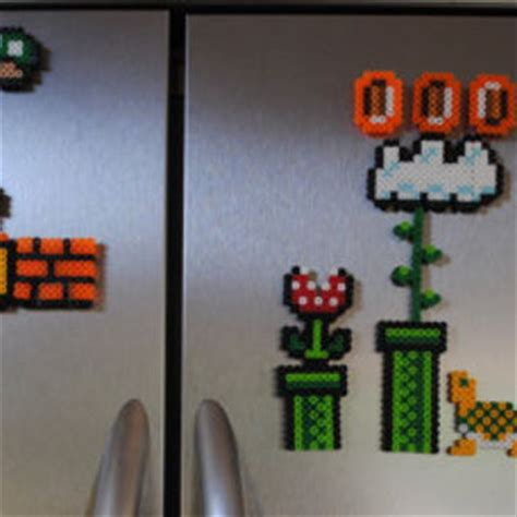 mario home decor mario magnet set 24 from thenaptimeproject on etsy