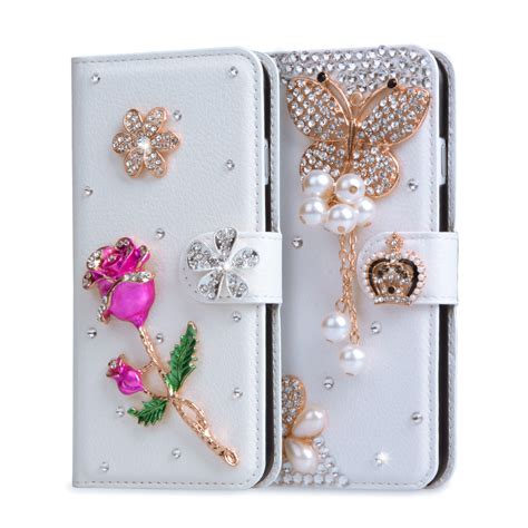 Best Casing Cover Flip Wallet Bling Glitter For Iphone 6 6s 4 7 Inch aliexpress buy coque for htc desire 530 glitter