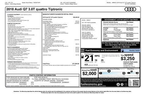 Audi Q7 Prices Paid by Audi Q7 Invoice Price Dascoop Info