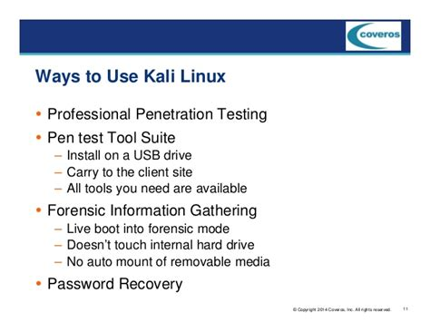 dica kali linux via live pen usb web application security testing kali linux is the way to go