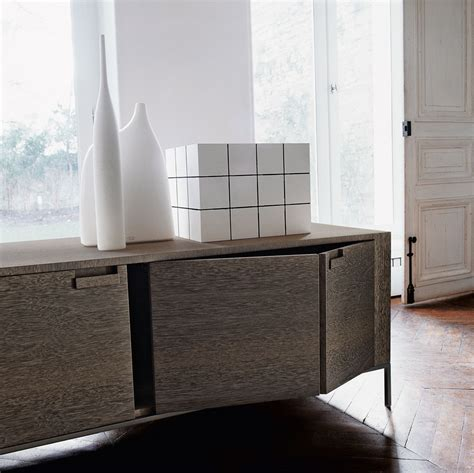 B B Italia Sideboard wooden sideboard with doors titanes collection by maxalto a brand of b b italia spa design