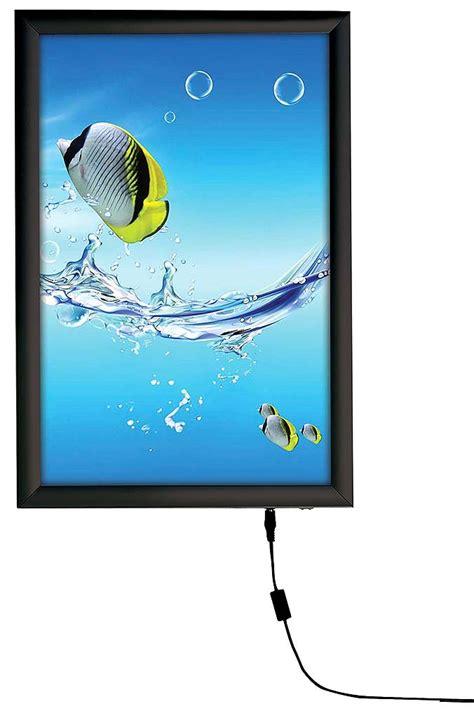 hanging light box display smart led light box display hanging graphic hardware