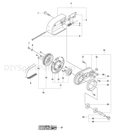 partner k750 parts diagram husqvarna k750 2009 parts diagram page 1