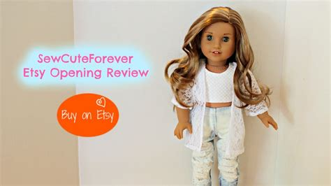 doll etsy american doll etsy shop opening review