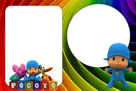 marcos de pocoy marcos infantiles para fotos marcos para fotos pocoyo imagui