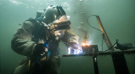 underwater welding one of the most dangerous occupations