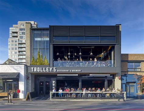 trolley  architect magazine modern office