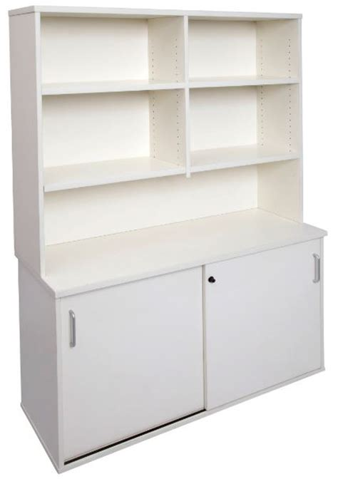 Home Office Furniture Packages White Space System Credenza And Hutch Package Fast Office