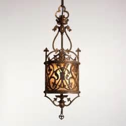 Spanish Brass Chandelier Antique Spanish Revival Lighting Mediterranean