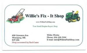 small engine repair business cards home services 999 ca
