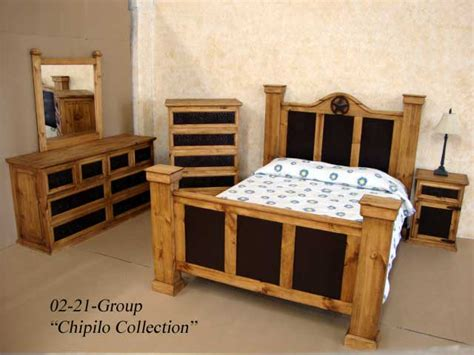 rustic king size bedroom sets king size rustic chipilo iron bedroom set real solid wood western cabin lodge ebay