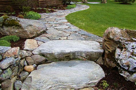 Rock Garden Steps Steps Landscape Maintenance And Stones On Pinterest