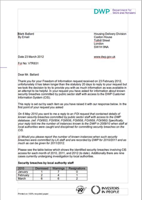 Tax Credit Award Letter Lost May 2012 Sector It
