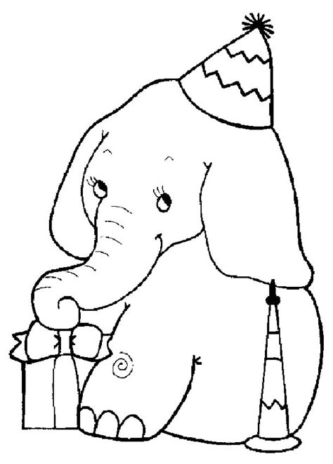 elephant coloring page elephant coloring pages