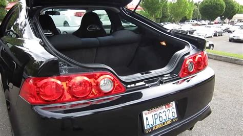 acura rsx stock 2006 acura rsx black stock 13991b trunk
