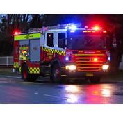 NSW Fire Brigades Scania Pumper  Flickr Highway